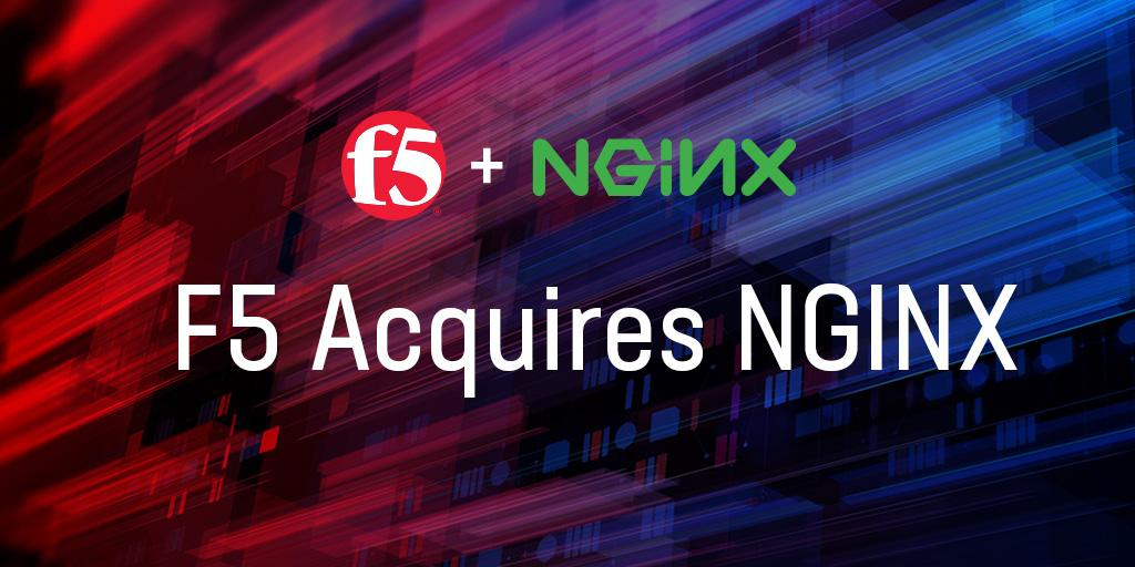 F5 Networks brings NetOps and DevOps together with NGINX acquisition