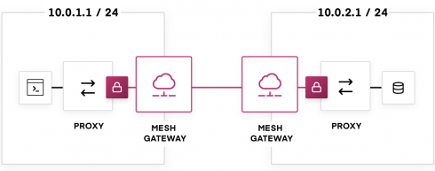 image of HashiCorp Consul 1.6 service mesh gateway. Source: HashiCorp