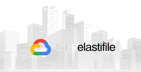 Google Cloud and Elastifile logos side by side