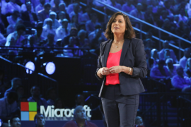 Gavriella Schuster takes the stage at Microsoft Inspire 2019