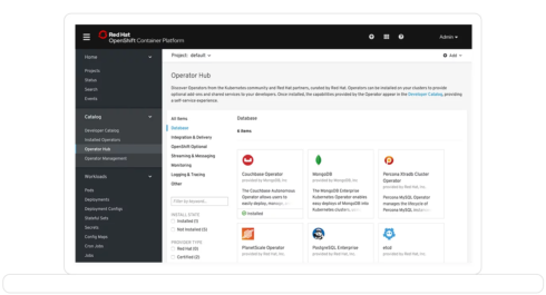 Red Hat OpenShift 4.2