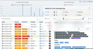 NeuVector dashboard screenshot