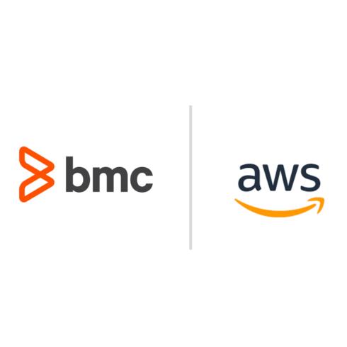BMC and AWS logos