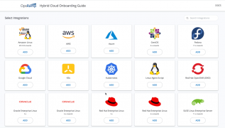 Rapid onboarding guide in the OpsRamp Spring 2021 release