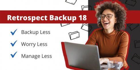 Retrospect Backup 18
